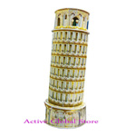 New Intellect 3D Puzzle Italian Pisa Leaning Tower World's Great Architecture Building Toy Gift - Education & Decoration
