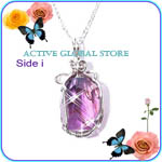 Natural Ametrine Crystal Pendant
