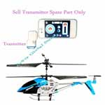 New 3.5 Channel Remote Control i-Helicopter-Apple iPhone Control Transmitter Spare Part