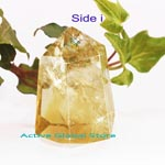 New Natural Citrine Crystal Quartz Stone Tower Point Collection Decorated Love Gift