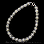 Crystal /Pearl Necklace