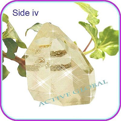 Natural Rutilated Crystal Quartz Stone - History / Legend & Metaphysical Spirit Healing & Gemstone Information