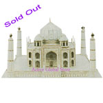 Sold Out Intellect 3D Puzzle Indian Taj Mahal World's Great Architecture Building Toy Gift