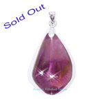 "Sold Out Natural Ametrine Crystal Quartz Kindle Pendant & 18""L 925 Silver Sterling RH Necklace Gift"